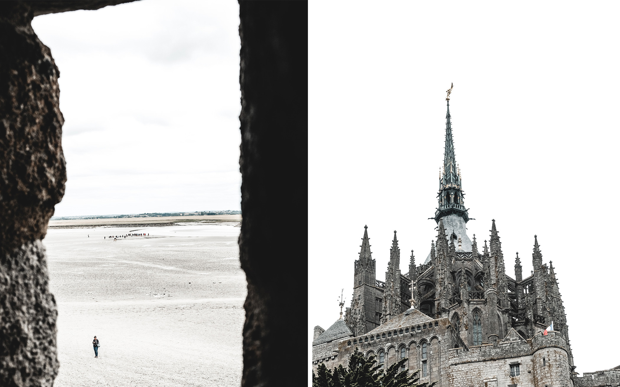 Mont saint Michel, Beautiful place in Normandy, French Casttle. Travel Blog post about a charming little trip