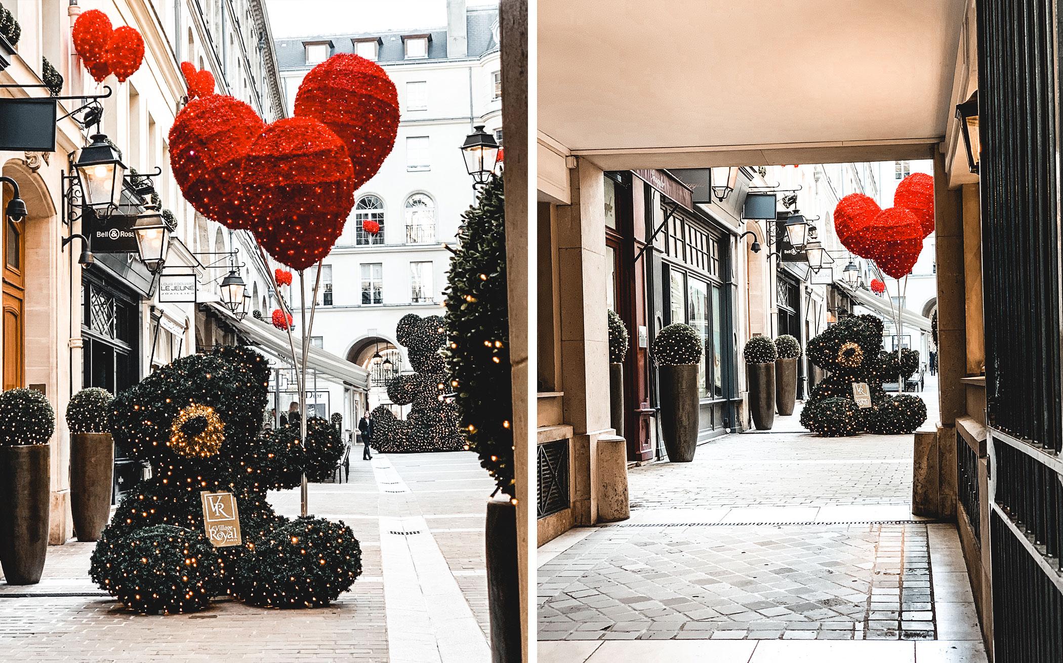 Le village royal. Parcours de Noël  à paris. Les plus belles places à voir pendant la période des fêtes