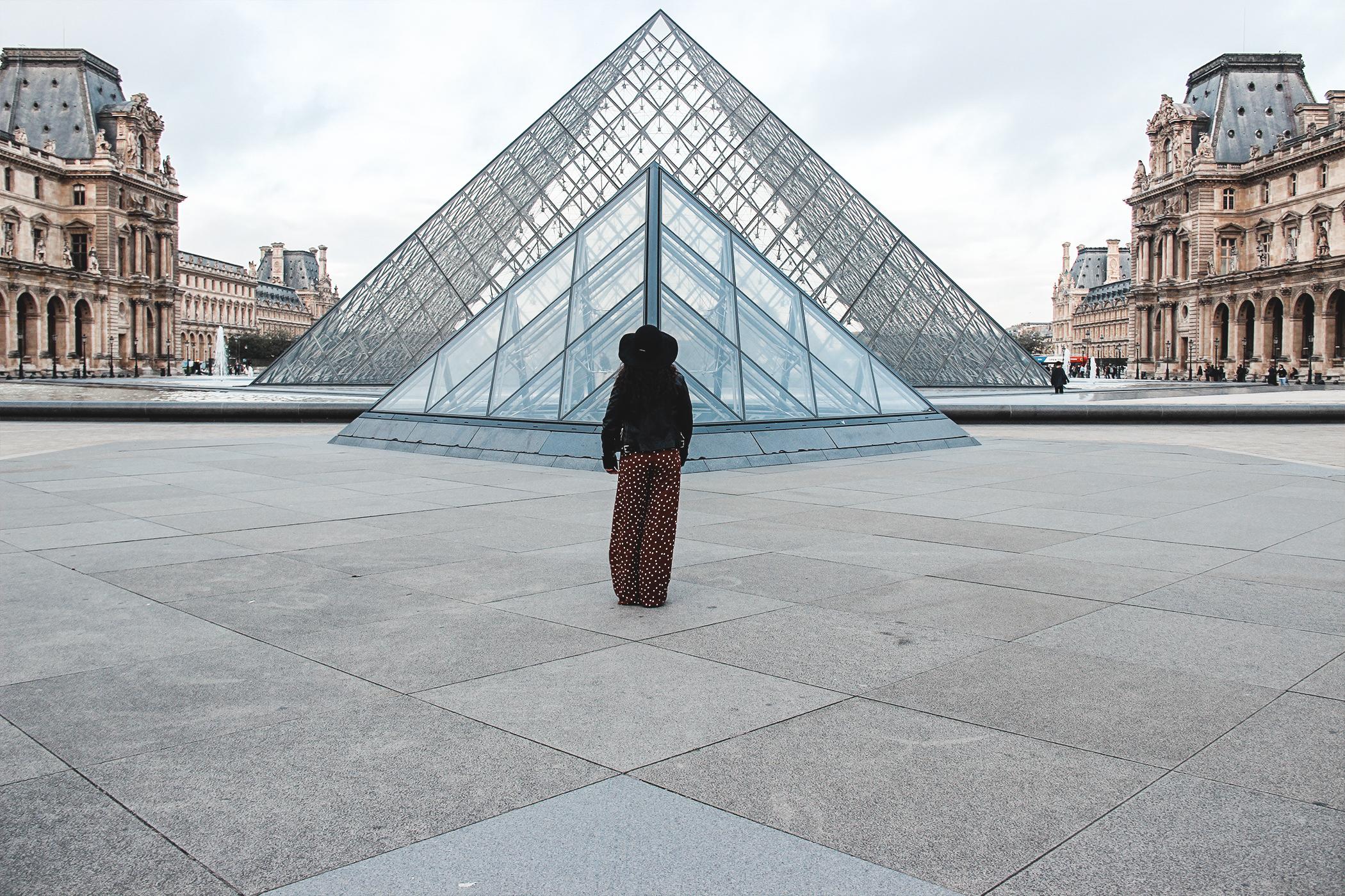 Pyramide du Musée du Louvre, Le parfait itinéraire si vous aimez vous baladez dans l'art Parisien